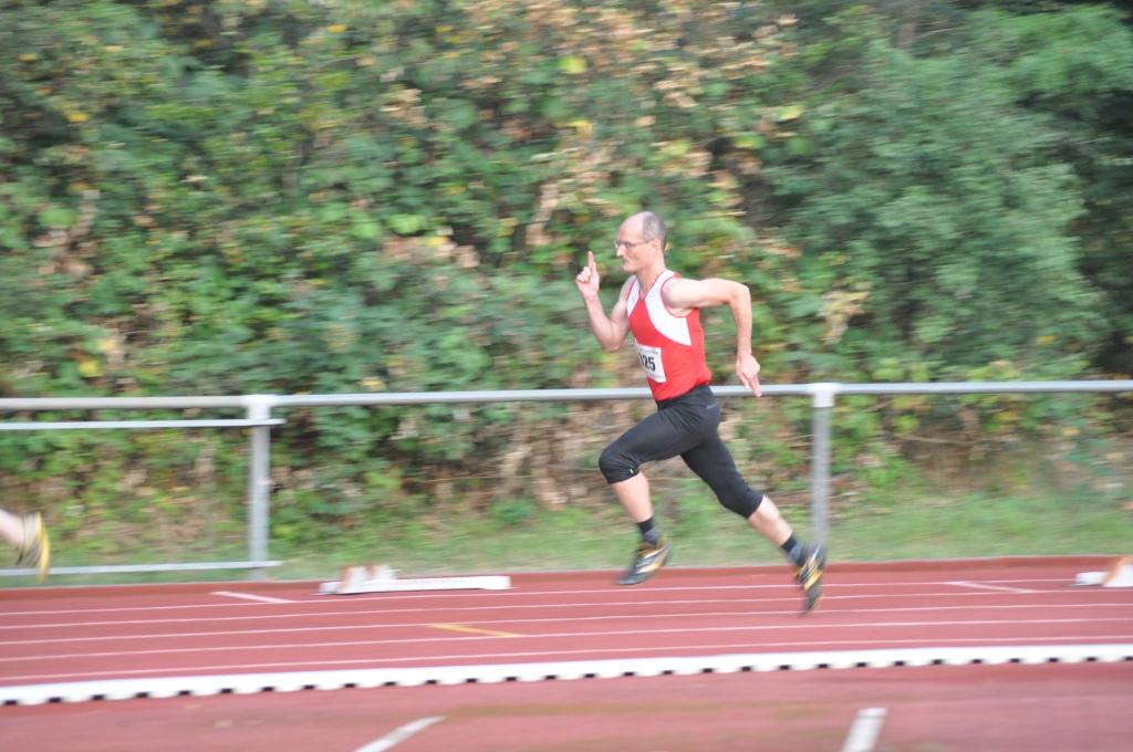 Mario Krause bei 200m