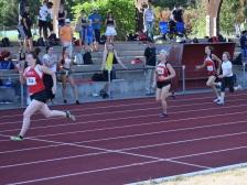 Katrin Hessel beim 100m Sprint