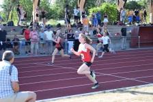 Katharina Hassemer beim 100m Sprint