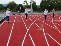 Die Trainingsgruppe beim Sprint-ABC